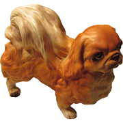 Lefton Pekingese Dog Figurine 1950s Japan