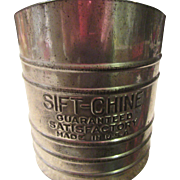 Sift-Chine by Foley 1940-1950 U.S.A. Sifter