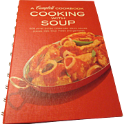 """Cooking with Soup A Campbell Cookbook"""