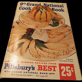 """Pillsbury's Best 9th Grand National Cook Book 100 Recipes"" 1950s"