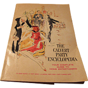 """The Calvert Party Encyclopedia"" 1967 by Calvert Distillers Company"