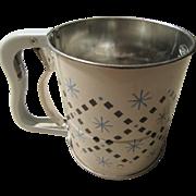 Androck Flour Sifter Pat. No. 2607491 USA 1948