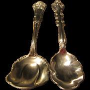 Wm A Rogers German Silver & International Silverplate Spoons