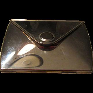 Vintage Folding Travel Mirror Purse Size