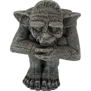 1996 Gargoyle U.D.C. Resin Paper Weight
