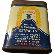 Sauer's Selected Spices Richmond , VA. U.S.A. 1 oz.