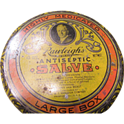 1930's Rawleigh's Antiseptic Salve for Families and Animals