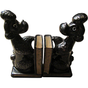 MidCentury Poodle Bookends and Pen Holders