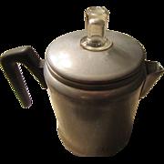 "MidCentury Aluminum 7 Cup Coffee Percolator 1950s ""Century"" Brand"