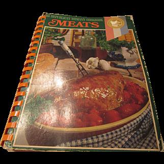 """The Republican Woman's Cookbook Meats"" 1969 Fund Raiser"