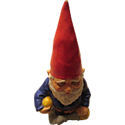 Vintage Gnome Bank 1979 Gorham Ceramic Korea