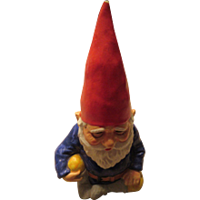 Vintage Gnome Bank 1979 Gorham Ceramic Korea