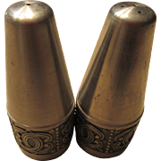 Groenlandica Pewter Salt and Pepper Shakers Norway