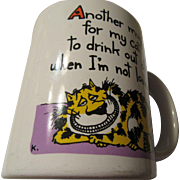 Feline Humorous Mug Shoebox Greetings Hallmark