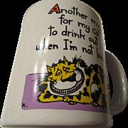 Feline Humorous Mug Shoebox Greetings Hallmark