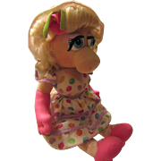Miss Piggy Doll 1993 Kid Dimension Hasbro Inc.