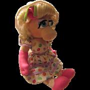 Miss Piggy Doll 1993 Kid Dimension Hasbro Inc.