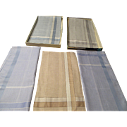 Italian Men's Handkerchiefs Cotton & Silk Bello Brand