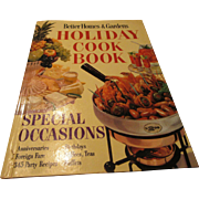 """Better Homes & Gardens Holiday Cookbook 1959"