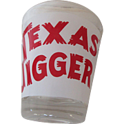 Texas Jigger Bar Measurement Glass For Entertainment
