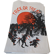 Trick or Treat Bags 25 by Topstone Industries, Inc. Danbury, CT 06810  1970s