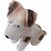Vintage Terrier Dog Friendly Appearance Made in Japan