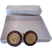 National Archives United States Seal Cuff Links 1782-1841