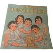 The Dionne Quintuplets We're Two Years Old 1936 Whitman Co.