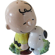"""He's Your Dog, Charlie Brown!"" 1968 and Salt and Pepper Shaker Duo"