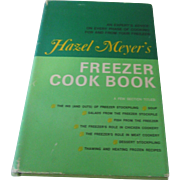 """Hazel Meyer's Freezer Cook Book"" Lippincott 1970"