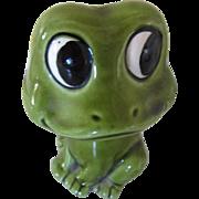 Darling Vintage Green Frog Shaker Japan