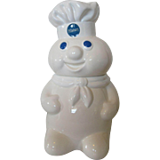 Pillsbury Dough Boy Cookie Jar 1988