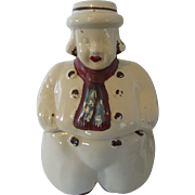 1940s Vintage Cookie Jar USA on Base Shawnee Style: Dutch Boy
