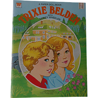 Trixie Belden Uncut Paper Dolls 1981 Western Publishing Company