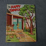 The Happy Family Paper Dolls set 1960