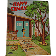 The Happy Family Paper Dolls set 1960