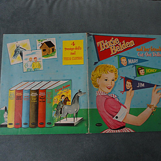 Trixie Belden and her friends Paper Dolls 1958 Western Publishing Company