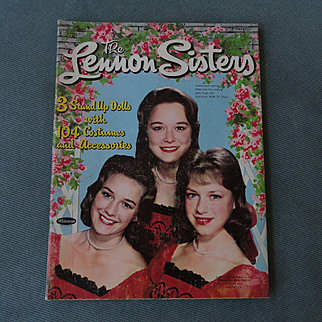 Lennon Sisters 1961 Paper Doll Set by Whitman -shipping included