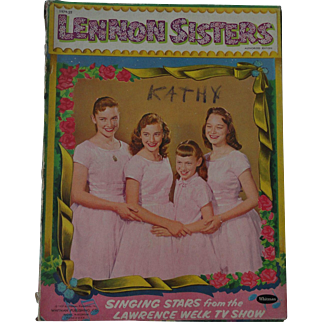 Lennon Sisters 1957 Paper Doll Set by Whitman -shipping included