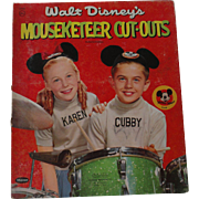 Walt Disney's Mouseketeer Paper Dolls 1957
