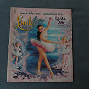 Walt Disney's Mouseketeer Paper Doll Linda 1958 - shipping included