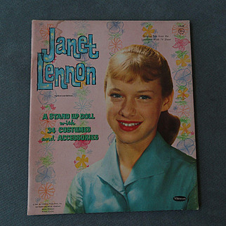 Janet Lennon 1961 Paper Doll Set - shipping included