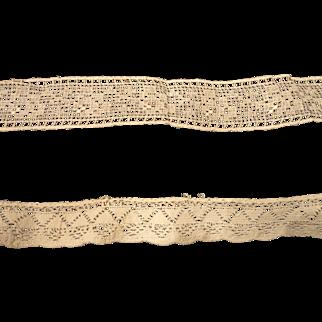 Two Vintage Laces
