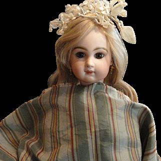 Vintage Striped Silk Fabric