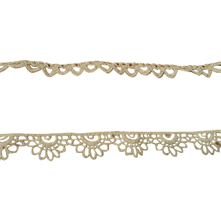 Two Vintage Scalloped Laces