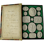 Grand Tour Plaster Intaglios c.1830 Liberotti Impronte Antique Collection Musei II