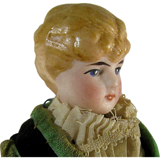 Dollhouse Doll c.1890 German Folk Costume Antique Original Clothes