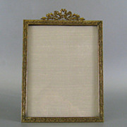 Large Antique Gilt Bronze French Style Picture Frame c.1900
