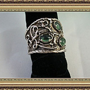 "Reproduction Sumerian priestly ring ""Desires"" One-Of-A-Kind"