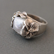 Ring Sterling Silver Mother-of-pearl
